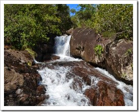 Piccole cascate, Cantà-Roraima, foto: Érico Veríssimo/G1