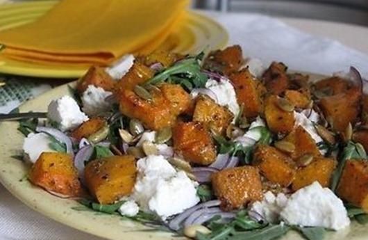 рецепт салата из кедровых орешков