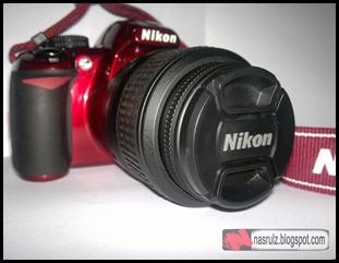 Nikon D3100 Merah