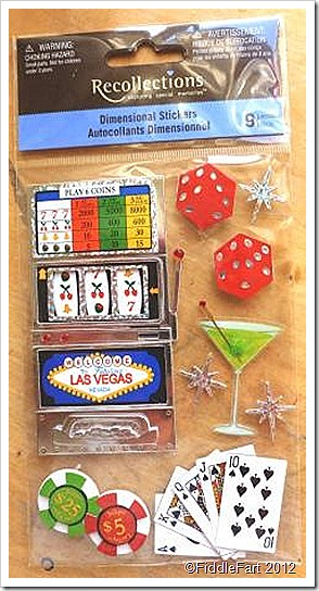 Recollections Las Vegas dimensional stickers