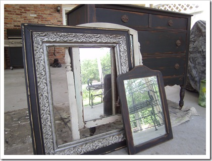 antique furniture finish - black antiqued paint