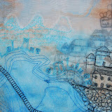 Lelant Sailings 10 , Machine Embroidery