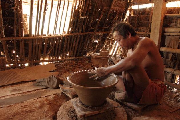 Pottery 101 at Twante, Myanmar