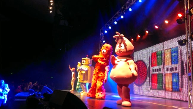 virtù - Yo Gabba Gabba at Perth Converntion Centre