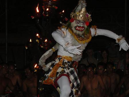 Bali picture: Balinese dances - Hanuman dance