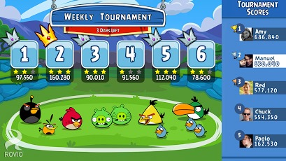 Angry Birds Friends para Android - Screenshots