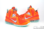 lebron9 allstar galaxy 20 web white Nike LeBron 9 All Star aka Galaxy Unreleased Sample