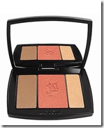 Lancome Blush, Bronze and Highlight Palette