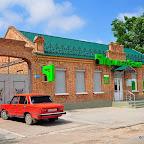 В этом здании. построенном в 1858 г. размещалась Очаковская городская ратуша