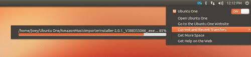 Sync Menu su Ubuntu 12.10