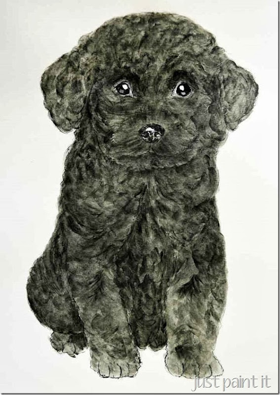 Poodle-Painting-G