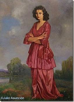 Retrato de Doña Carmen Arconada - Zuloaga - Museo de Bellas Artes de Vitoria