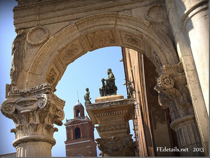 Statua di Borso d'Este, Ferrara, italia - Statue of Borso d'Este, Ferrara, Italy