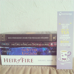 TBD haul & Quirk books