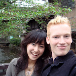 lovely picture of chie and myself in Kyoto, Kyoto, Japan