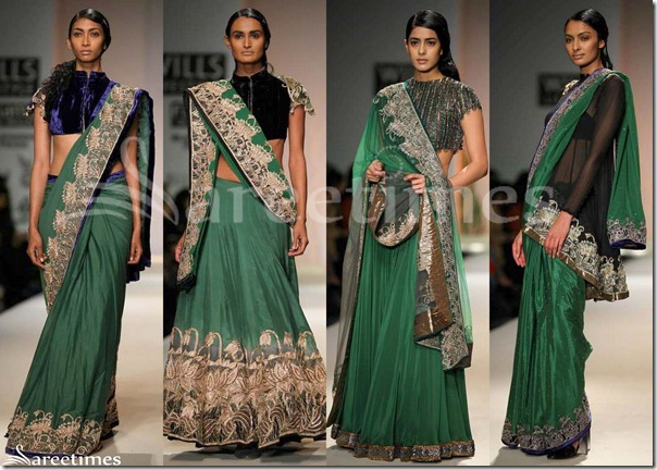 Green_Designer_Sarees