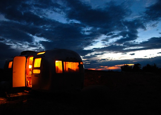 Airstream at Dusk