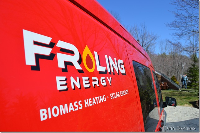 Froling P4 Froling Energy Truck