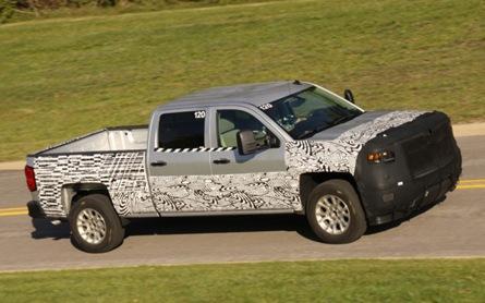 2014 Chevrolet Silverado prototype teaser