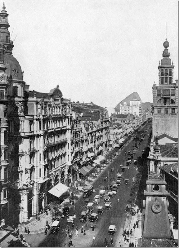 Avenida Rio Branco - 1919