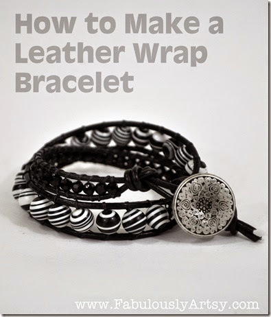 wrap bracelet tutorial