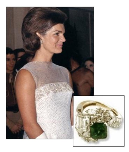 Jackie-Kennedy-Emerald-Engagement-Ring