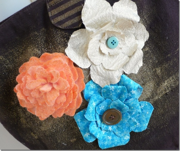cafe creativo - sizzix big shot - flowers bag (2)