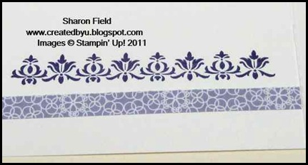 Wisteria Wonder, In Color, Lucky Limeade, Silver Glimmer Paper, punches, flirtatious specialty dsp, lace ribbon border punch, get well, field flowers, creative elements, sharon field, created by you, blogger