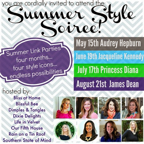 Summer Style Soiree 2014 Invite