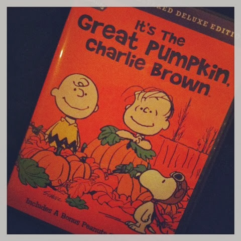 IG great pumpkin dvd