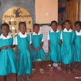 Meisjes in schooluniform