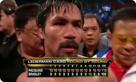 pacquiao bradley fight lederman card