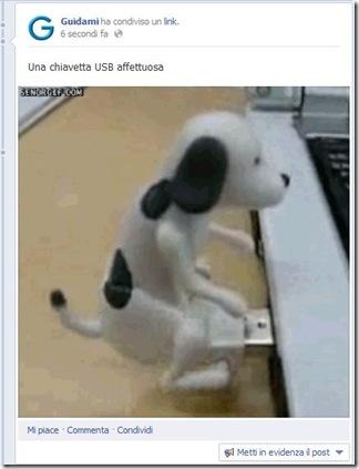 GIF animata su Facebook con Giphy
