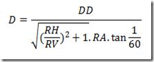 Equação para distância ideal da televisão