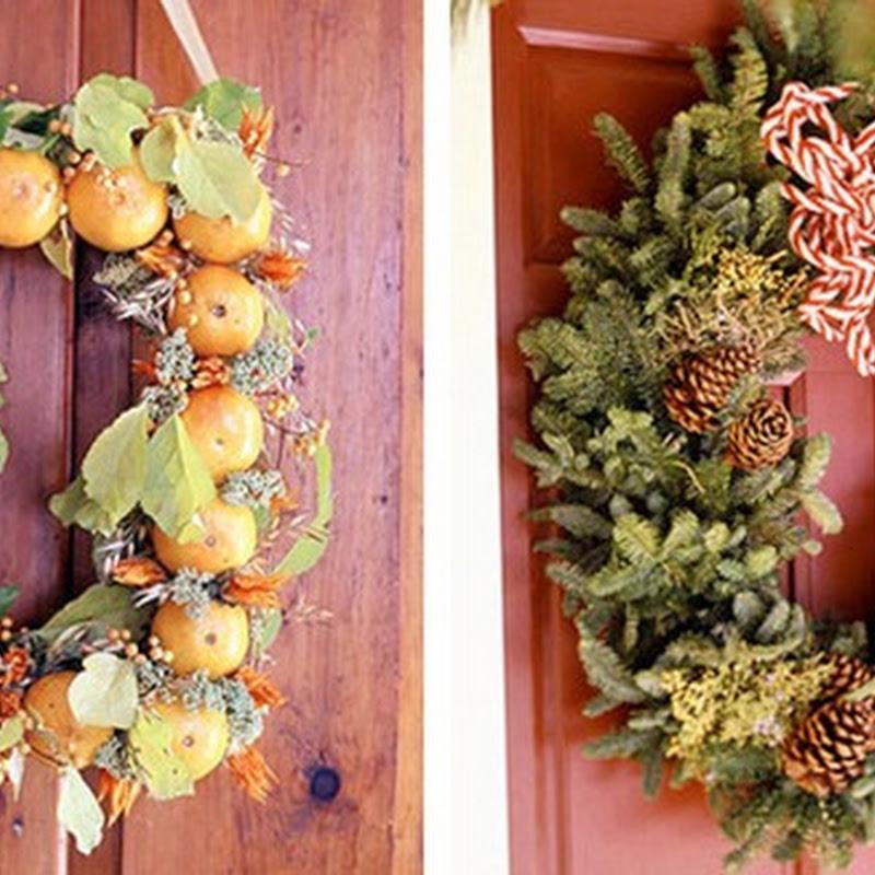 30 modelos de coronas de navidad idecorar - Modelos de coronas ...