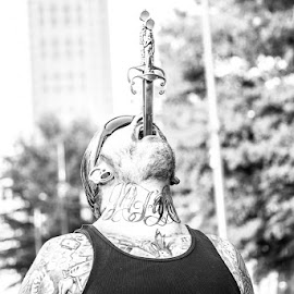 Believe it or not by Leon Davis - People Body Art/Tattoos