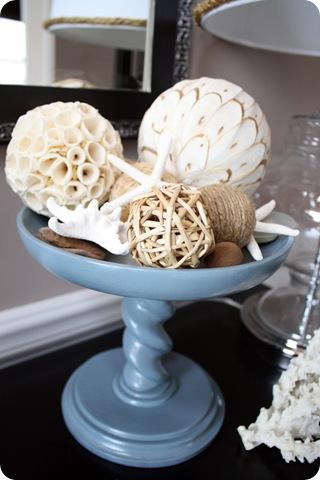 sea shells on platter