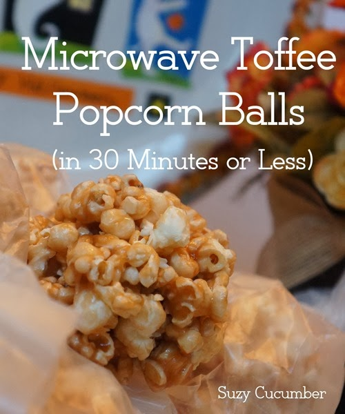 Toffee Popcorn Balls