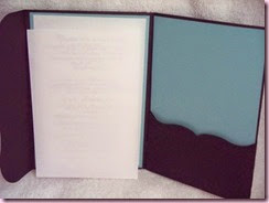 Wedding Invite Inside
