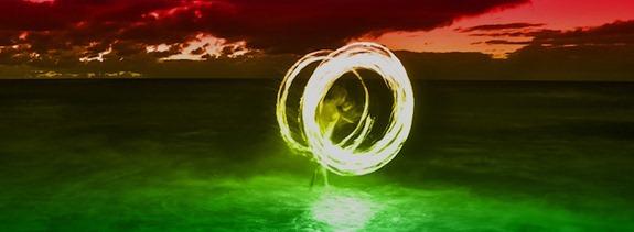capas para facebook efeito de luz nas cores do reggae 2