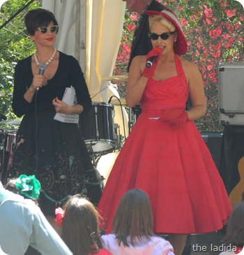Fifties Fair Monica Trapaga and Pia Andersen