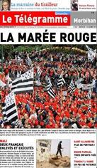 Portada Le Telegramme 2 de novembre 2013