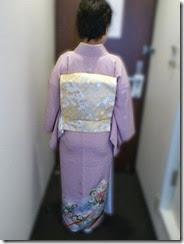 グリーンリッチホテルに色留袖の出張着付け (2)