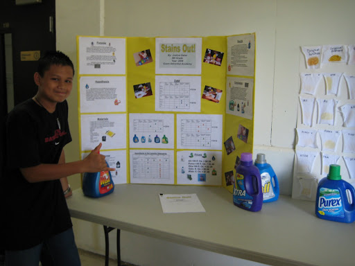 laundry detergent science project