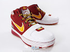 hardwood lebron6 cavfanatic 01 First Look at Nike LeBron X Low   Cavs Hardwood Classic?!