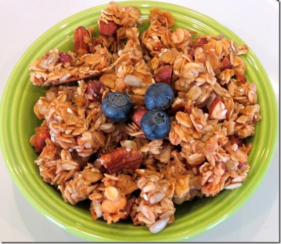 Crazy Nutty Gluten Free Granola 4