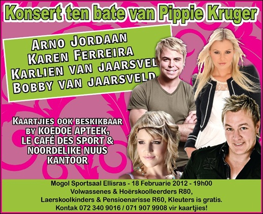 Van Jaarsveld Afrikaans gospel singer survives hijacking March 4 2012 after concert in Roodepoort