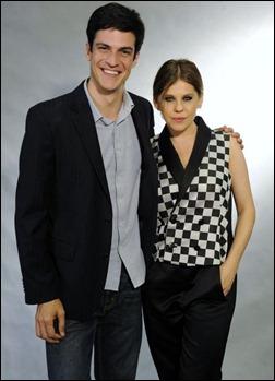 Mateus Solano e Barbara Paz