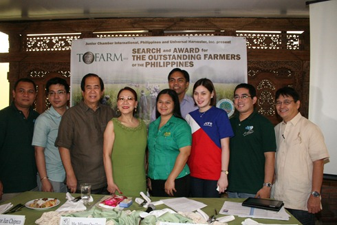 JCI Philippines, Universal Harvester launch The Outstanding Farmers Awards 2012