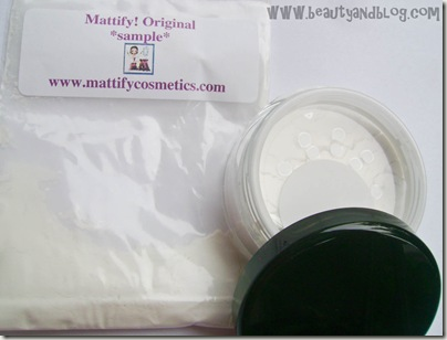 Mattify Original (Sample Baggie) and Mattify Ultra Review